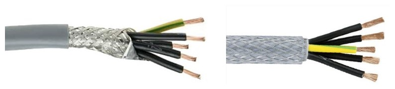 Huadong 5 core screened cable factory price