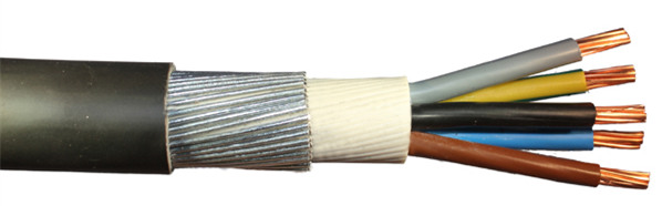 Huadong SWA armoured 5 core shielded cable