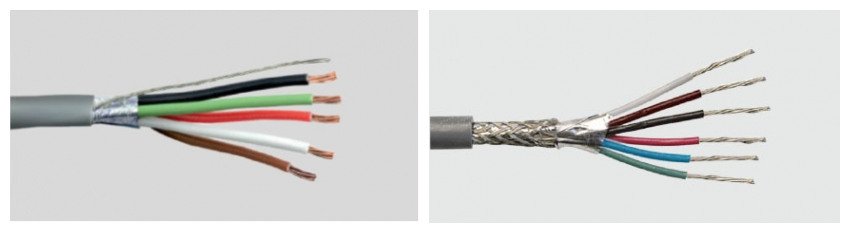 discount 5 core screened cable quotation