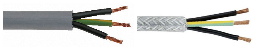 low price 3 wire shielded cable